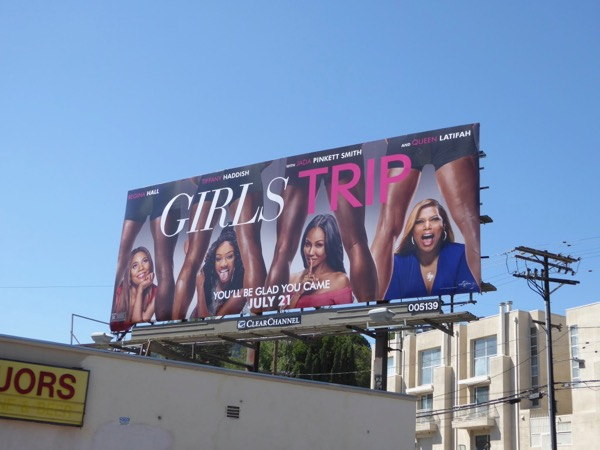 Girls Trip movie billboard