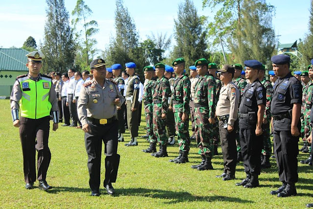 AKBP Marudut Liberty Panjaitan Pimpin Apel Gelar Pasukan Ramadniya Toba 2017