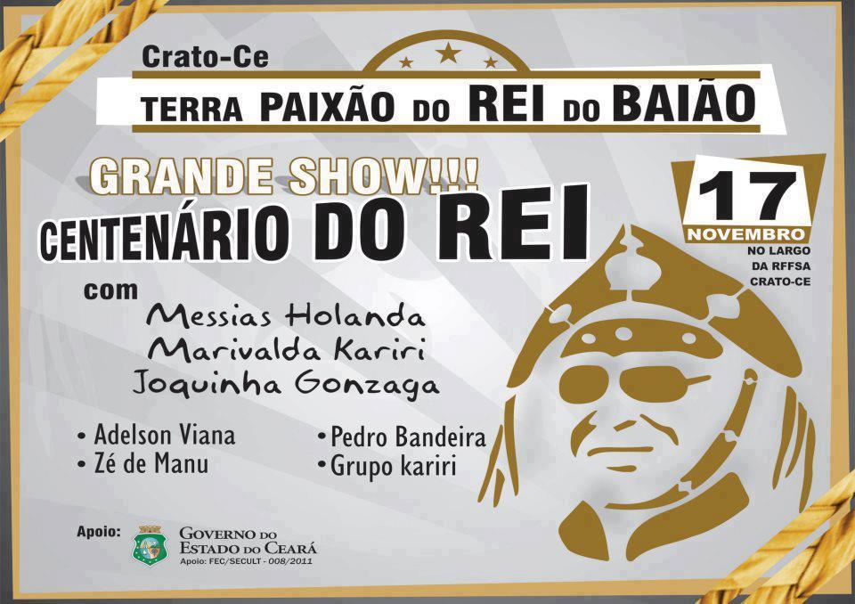 85e8703e54250 O Berro  Crato  show em homenagem ao Centenário de Luiz Gonzaga