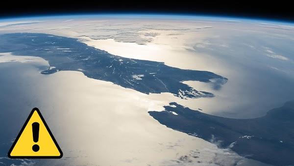 Fuerte terremoto esta causando que se junten 2 islas en nueva Zelanda.