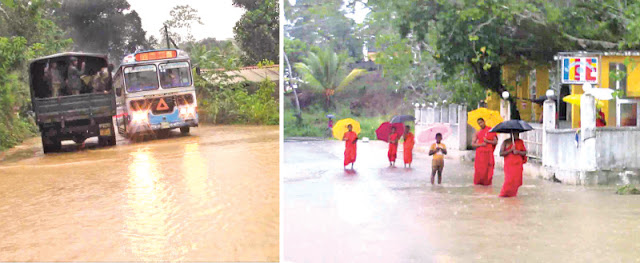 Floods play havoc in Galle