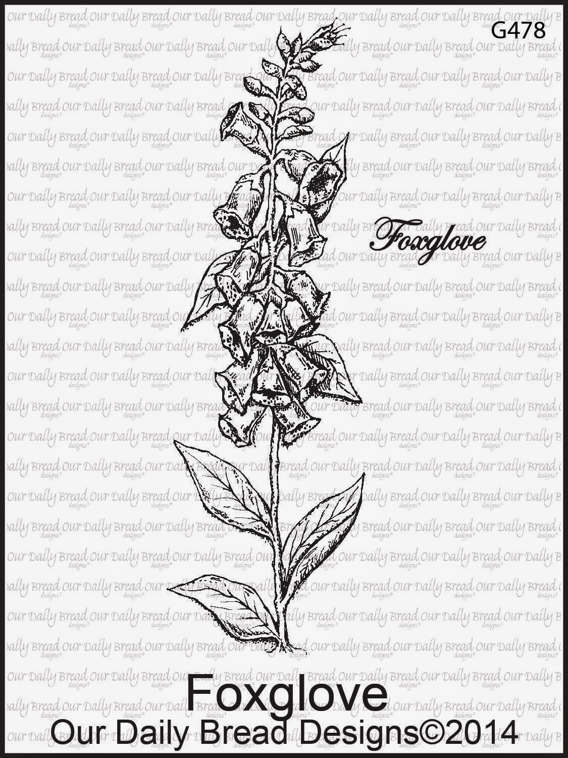Stamps - Our Daily Bread Designs Foxglove