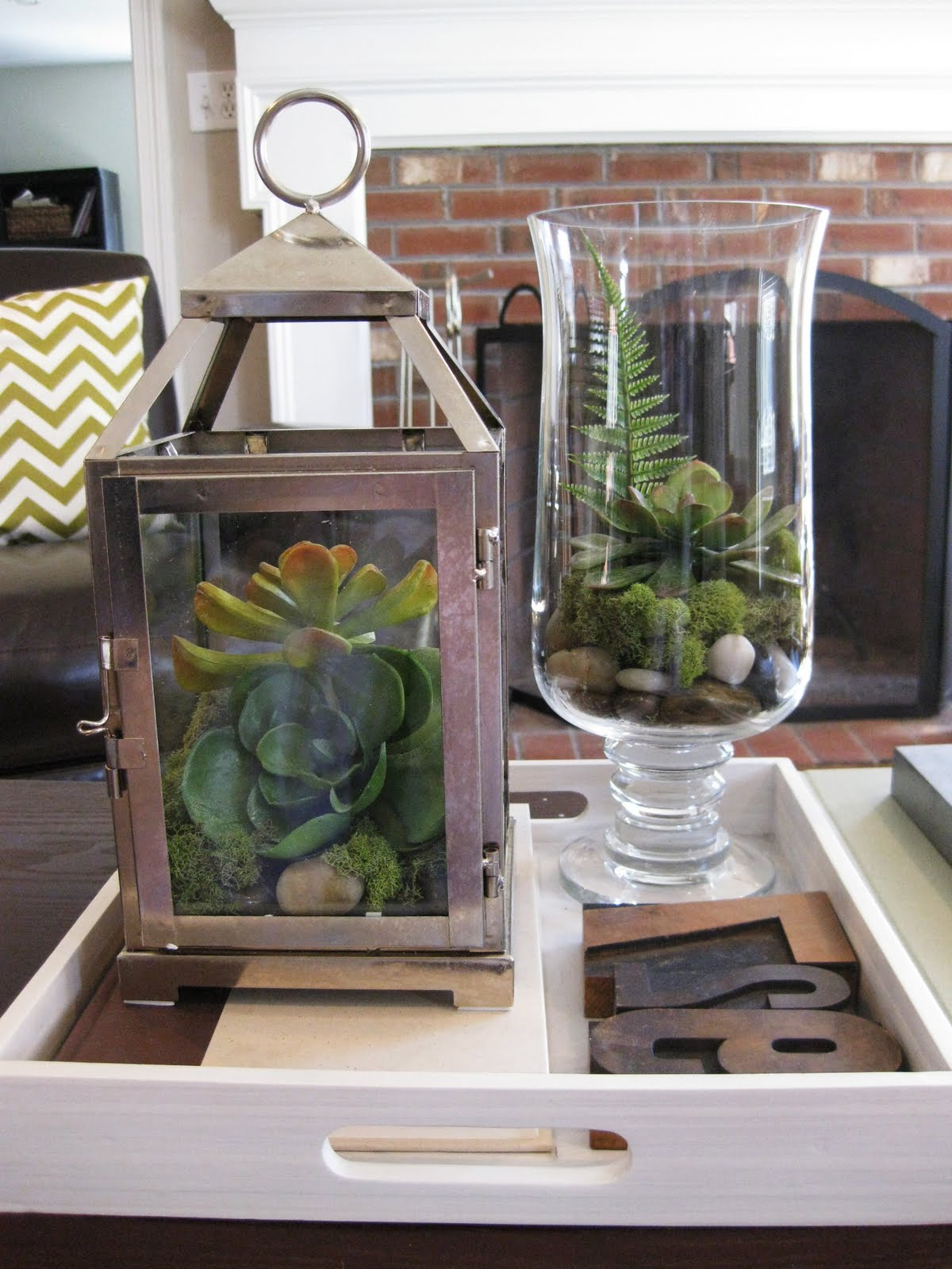 pewter sage diy faux terrariums. Black Bedroom Furniture Sets. Home Design Ideas