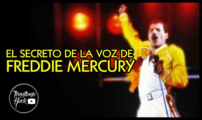 EL SECRETO DE LA VOZ DE FREDDIE MERCURY (VIDEO)