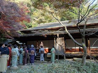 Sankeien kimono