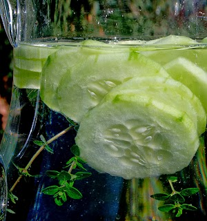 Cucumber Pear Water