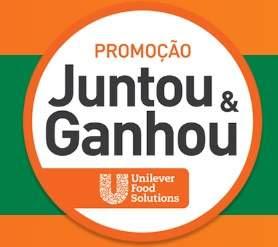 Cadastrar Promoção Unilever Food Solutions 2018 Juntou Trocou