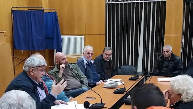 Και η Αρκαδική Επιτροπή κατά των Πλειστηριασμών στην συγκέντρωση συμπαράστασης στην δίκη των 6 στο Ναύπλιο