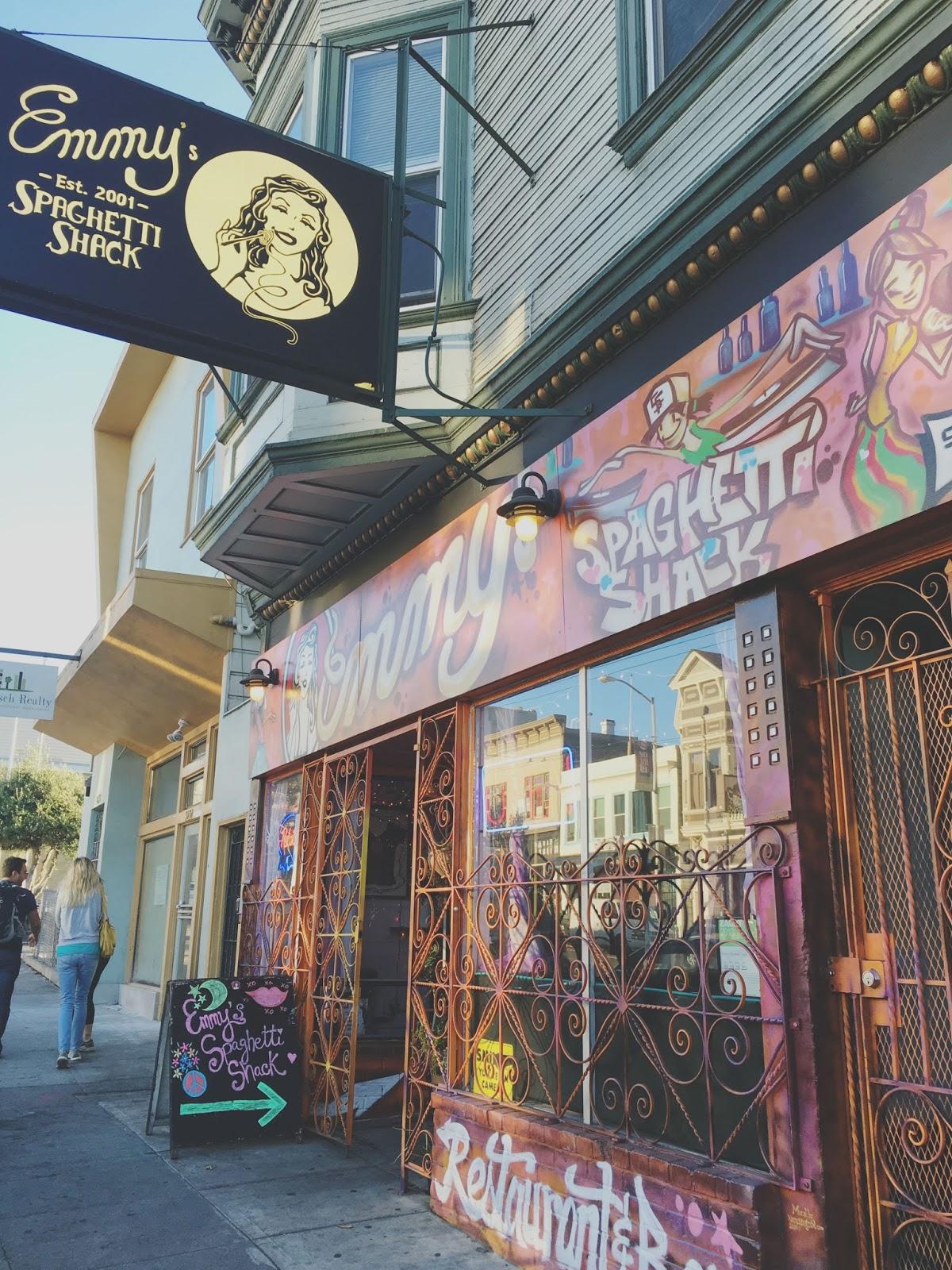 Emmy's Spaghetti Shack - a restaurant in San Francisco, California