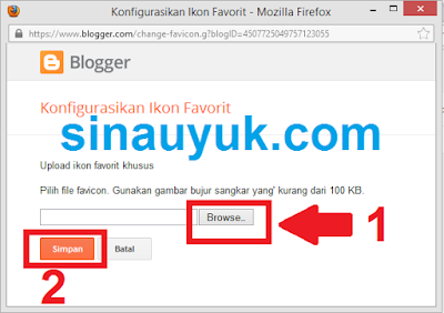 Logo Favicon, Favicon Blogger, Cara Mengganti Favicon,Logo Blog di Title Bar,title bar browser