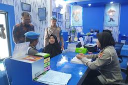 Sipropam Polres Ketapang Sidak Ke Pelayanan Publik