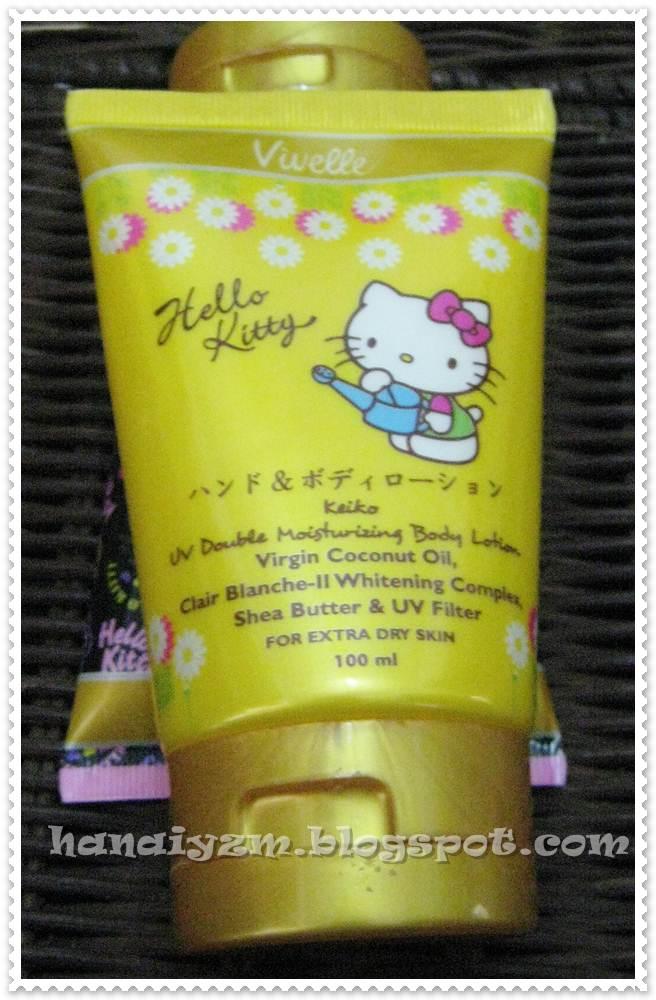 Crochet And Lipstick Review Vivelle Hello Kitty Uv Whitening Body
