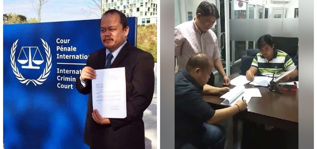 Atty. Sabio withdraws ICC complaint against President Duterte: It's just part of propaganda of Trillanes, De Lima and LP | Pinoy Trend