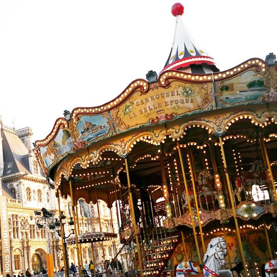 carrousel Paris hotel de ville