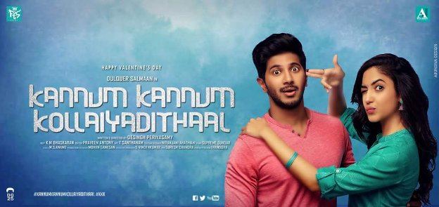 Kannum Kannum Kollaiyadithaal next upcoming tamil movie first look, Poster of movie Dulquer, Ritu, Niranjani download first look Poster, release date