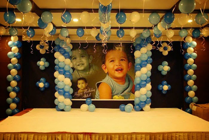 Birthday Party Decorations Balloon Decoration Ideas For 1st