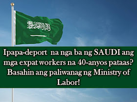"""Rumors are not true. This is the clarification of Ministry of Labor (MOL) and Social Development of the Kingdom of Saudi Arabia regarding the news circulating in some websites and social media that expatriate over 40 years of age will be deported.  In social media and other online sites, there is news circulating that Saudi Arabian government will no longer issue new work visa for expatriate workers above 40-years of age.     Also, expatriate workers who are above 40-years old can no longer renew their iqama and government is planning to deport them.  MOL has denied this rumors.  The ministry said this is a false news story and the government has no plans to take these kinds of the measure at all.     Professor of criminal psychology and head of academic studies at King Fahd Security College Dr. Nasser Ali Arifi said that the main motive behind spreading rumors is to destabilize the economy, spread chaos and harm the relationship between citizens and expatriates.  """"Enemies of the country tend to create false rumors and others spread these without cross-checking the veracity of such news. Spreading rumors with the intention to harm society is punishable by law not only in the Kingdom but all around the world,"""" Arifi said.     He said that the ministry issues rules and directives through official websites and any citizen or expatriate can obtain information directly from official news sources or from the Saudi Press Agency.  ©2016 THOUGHTSKOTO"""