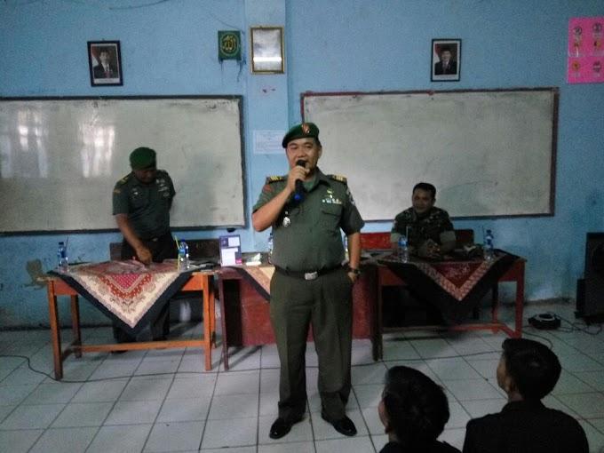 Kepsek SMK Teknindo Apresiasi Koramil 01/Pancoran Mas