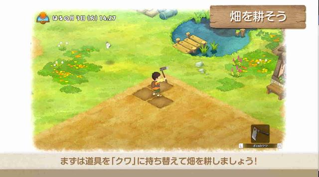 Inilah Trailer Sistem Game Doraemon: Story of Seasons