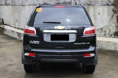 Eksterior Chevrolet Trailblazer Tampak Belakang