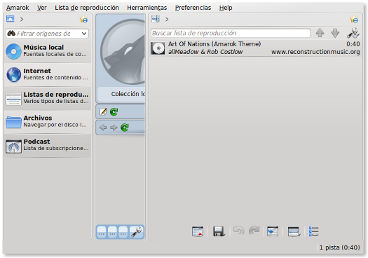 Amarok, diccionario GNU/Linux - LinuxAll