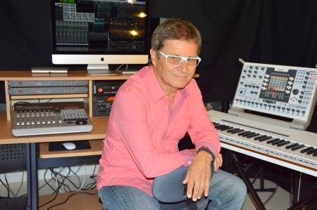 El actual estudio de música electrónica de Pierre Salkazanov 'Zanov' en la localidad de L'Isle d'Abeau