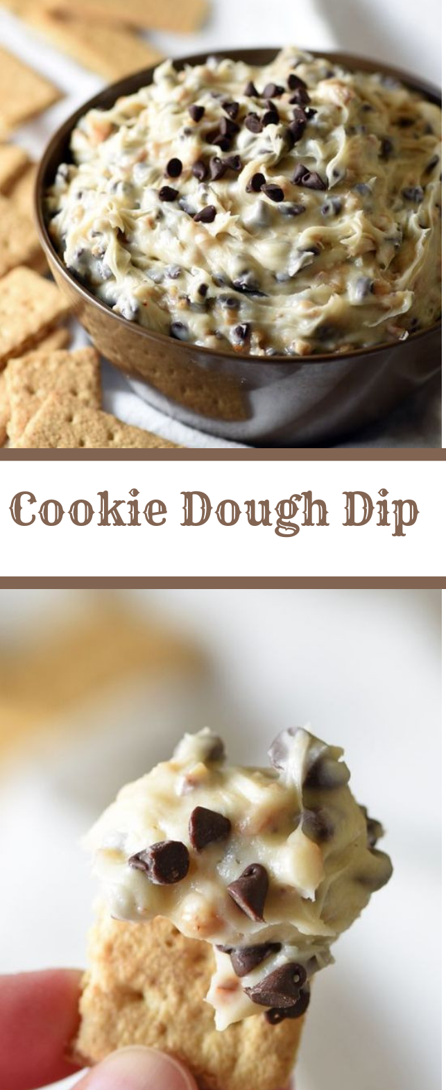 COOKIE DOUGH DIP #delicious #cookie