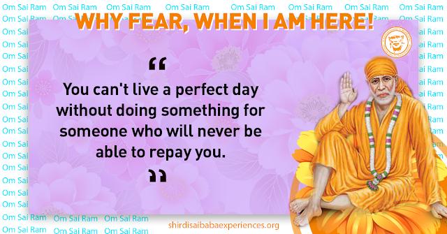 Sai Baba Guided Towards Right Job - Experience of Naresh