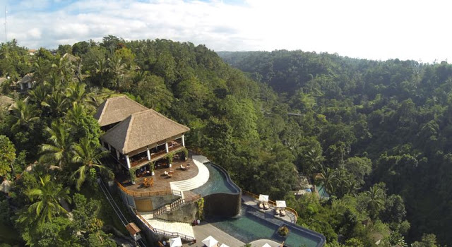 Hanging Gardens of Bali, Indonesia Review.