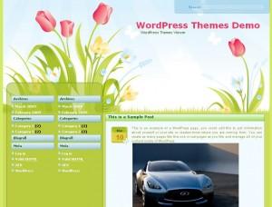 free_wordpress_themes_flowers