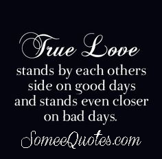 True love - quotes about marriage
