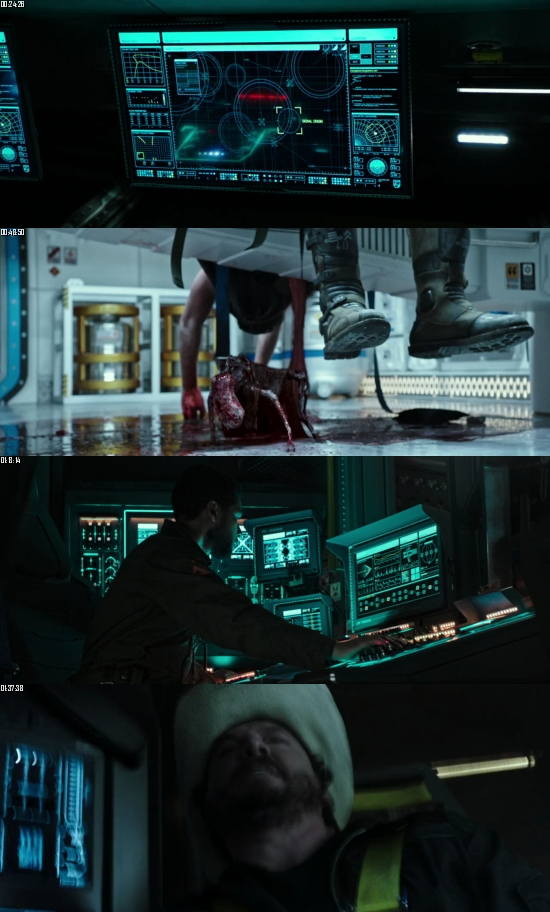 Alien Covenant 2017 BluRay 720p 480p Dual Audio Hindi English Full Movie Download