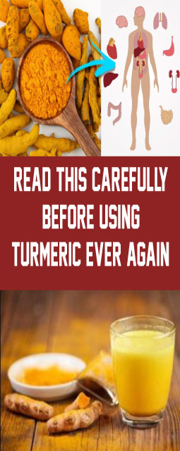READ THIS CAREFULLY BEFORE USING TURMERIC EVER AGAIN!
