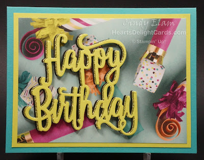 Heart's Delight Cards, Picture Perfect Birthday, Birthday Card, Stampin' Up!, Occasions 2018,