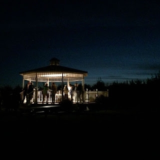 Gazebo Twilight Hike Sholam Farms Leominster MA New England Fall Events