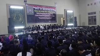 Ribuan Warga PSHT Magetan Gelar Doa Bersama Atas Tragedi Surabaya