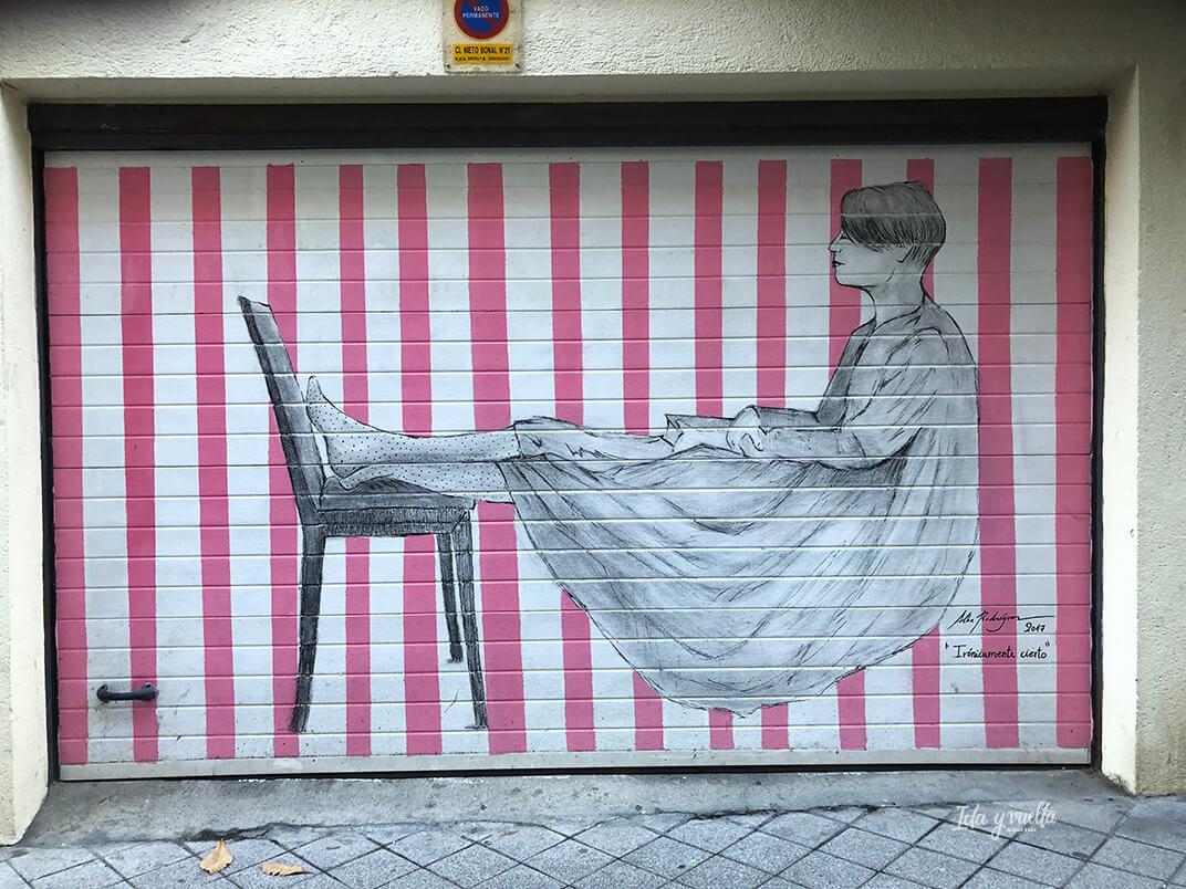 Irónicamente cierto Arte urbano Barrio Oeste
