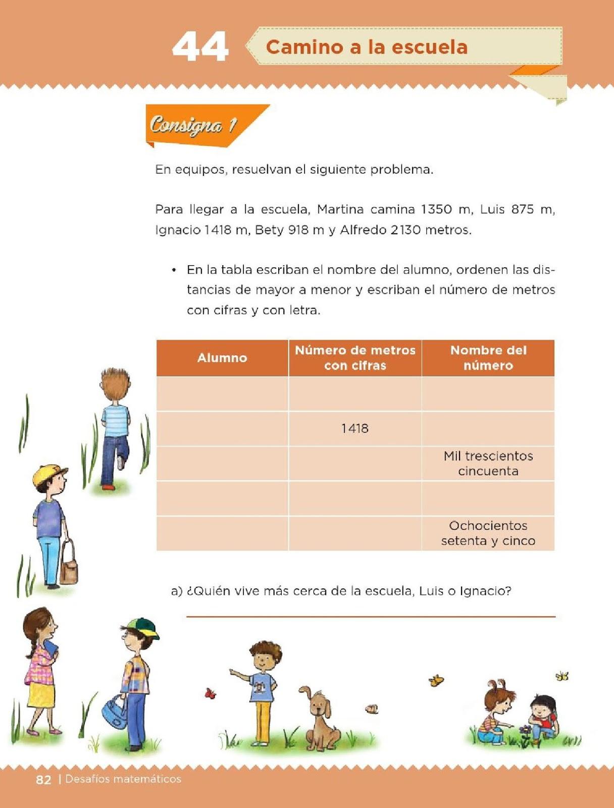 4 Grado Contestado Libro De Matematicas De Cuarto Grado De Primaria Resuelto - Libros Famosos