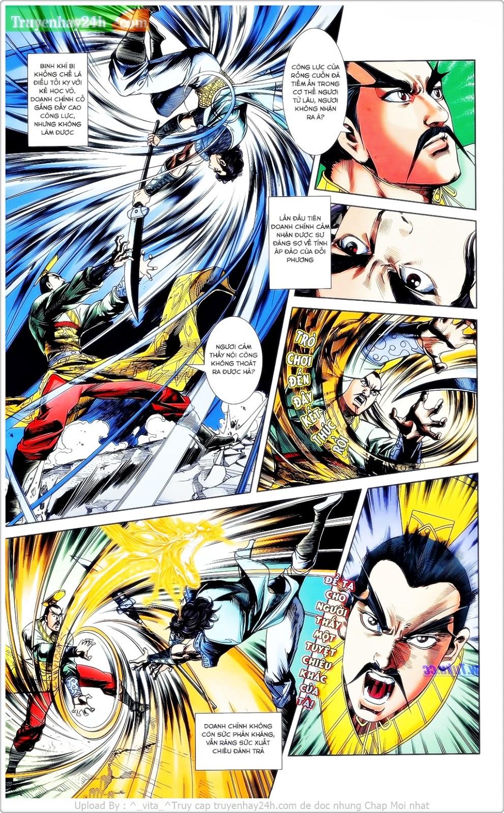 Tần Vương Doanh Chính chapter 23 trang 28
