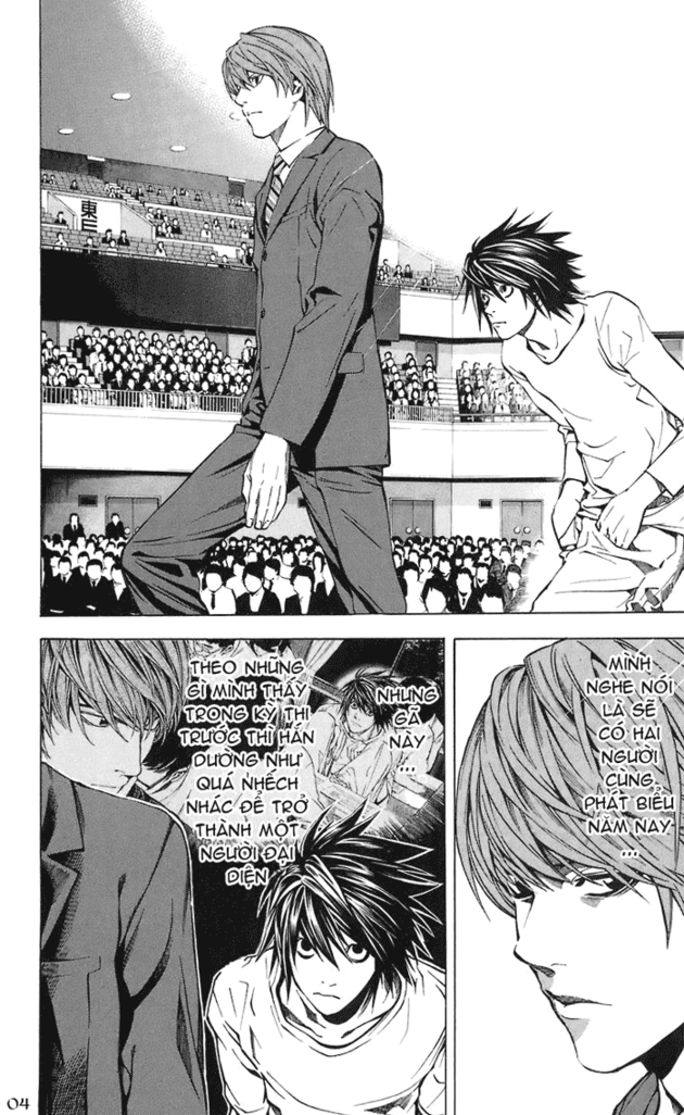Death Note chapter 019 trang 5