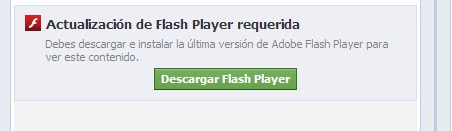 Actualización Flash Player