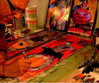 Mostra di grafica pittorica di Salvatore Palita