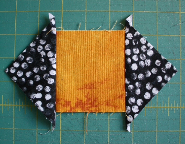 Square-in-a-square tutorial | DevotedQuilter.blogspot.com
