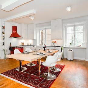 Extractor integrado en la cocina una alternativa a la campana tradicional cocinas con estilo - Cocinas escandinavas ...