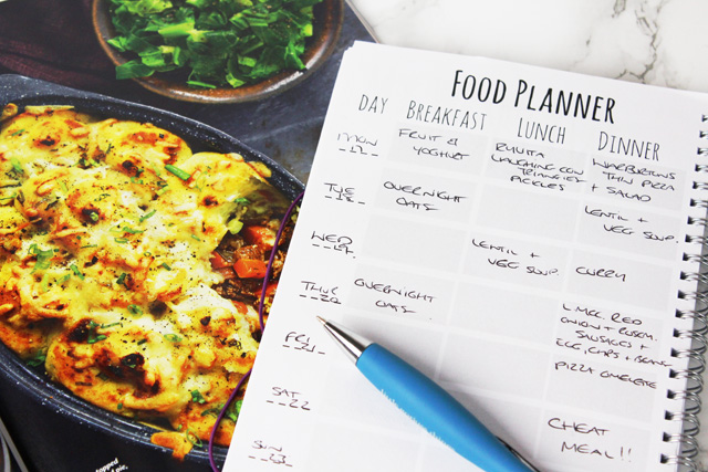 Slimming World Style Weekly Meal Plan