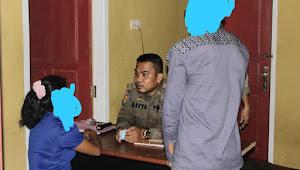 Pol PP Amankan Sepasang Remaja Duduga Selingkuh