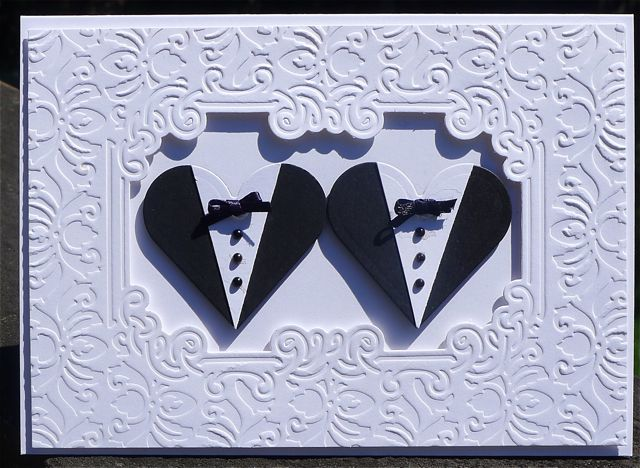 Wedding Gifts For Lesbian Couples: Allycat Cards: Mr & Mr Wedding Card
