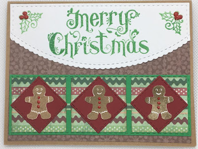 Merry Christmas Gingerbread Cards