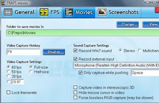 Software yang dapat menampilkan fps