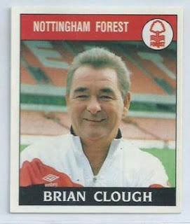 Brian Clough football sticker
